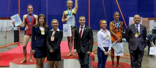 CAMPEONAS EN ST PETESBURGO, RUSIA III INTERNATIONAL CHAMPIONSHIP POLE SPORT ELITE 2015