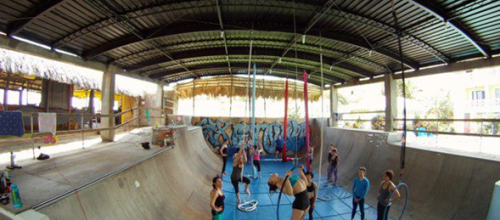 AERIAL ACRO RETREATS