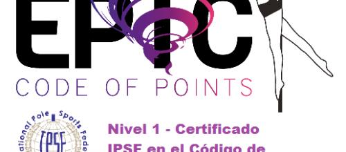 IPSF Nivel 1 Certificación en linea en el Código de Puntos