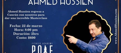 Marsterclass de belly dance con Ahmed Hussien